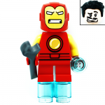 Iron Man Marvel Super Heroes Mighty Micros LEGO Minifigures 76072