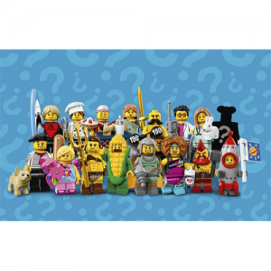 Series 17 Complete Collection 16 LEGO Minifigures 71018