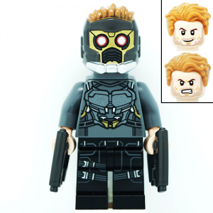 Star Lord Marvel Guardians of the Galaxy LEGO Minifigures 76081
