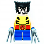 Wolverine Marvel Super Heroes Mighty Micros LEGO Minifigures 76073