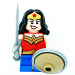 Wonder Woman DC Super Heroes Mighty Micros LEGO Minifigures 76070
