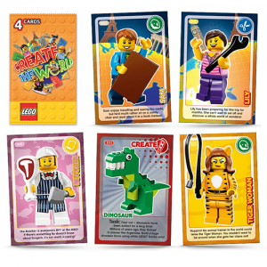 LEGO Create The World Trading Cards