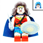 Wonder Woman DC Super Heroes LEGO Minifigures 76075